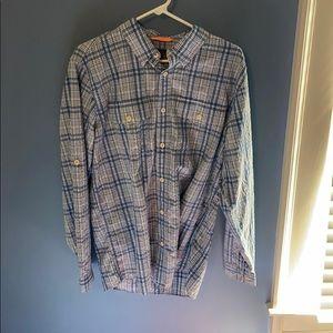 Orvis Trout Bum button down performance shirt